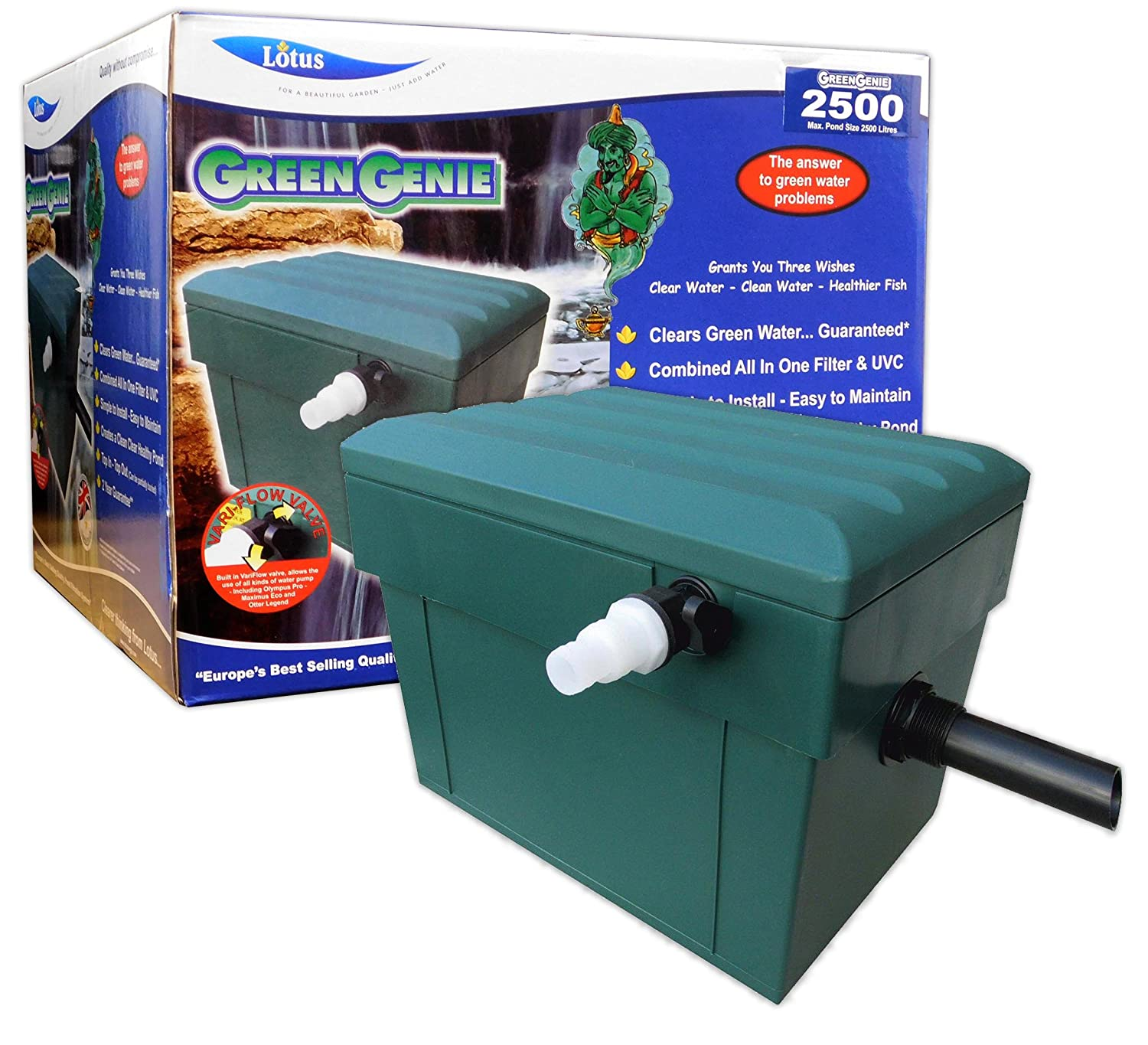 Green Genie Filter, 2500 Litre