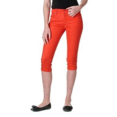 Amazon.com: Reve Jeans Skinny Ankle Cut Low Rise Capris: Clothing