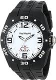 Virrey de las mujeres 432851–15Real Madrid deportes plástico negro goma FECHA reloj