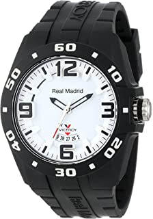 Viceroy Womens 432851-15 Real Madrid Sports Plastic Black Rubber Date Watch