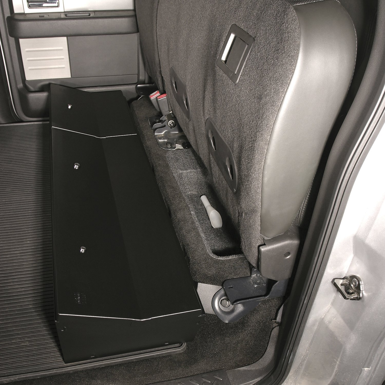 Tuffy 283-01 Under Seat Lockbox for 2009-2014 F-150 Super Crew w//out Subwoofer