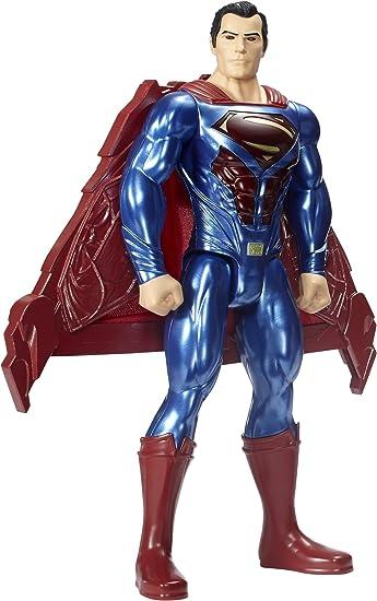 Justice League Personaggio Superman Attacco Tattico, FGH13, ModelliColori Assortiti, 1 Pezzo