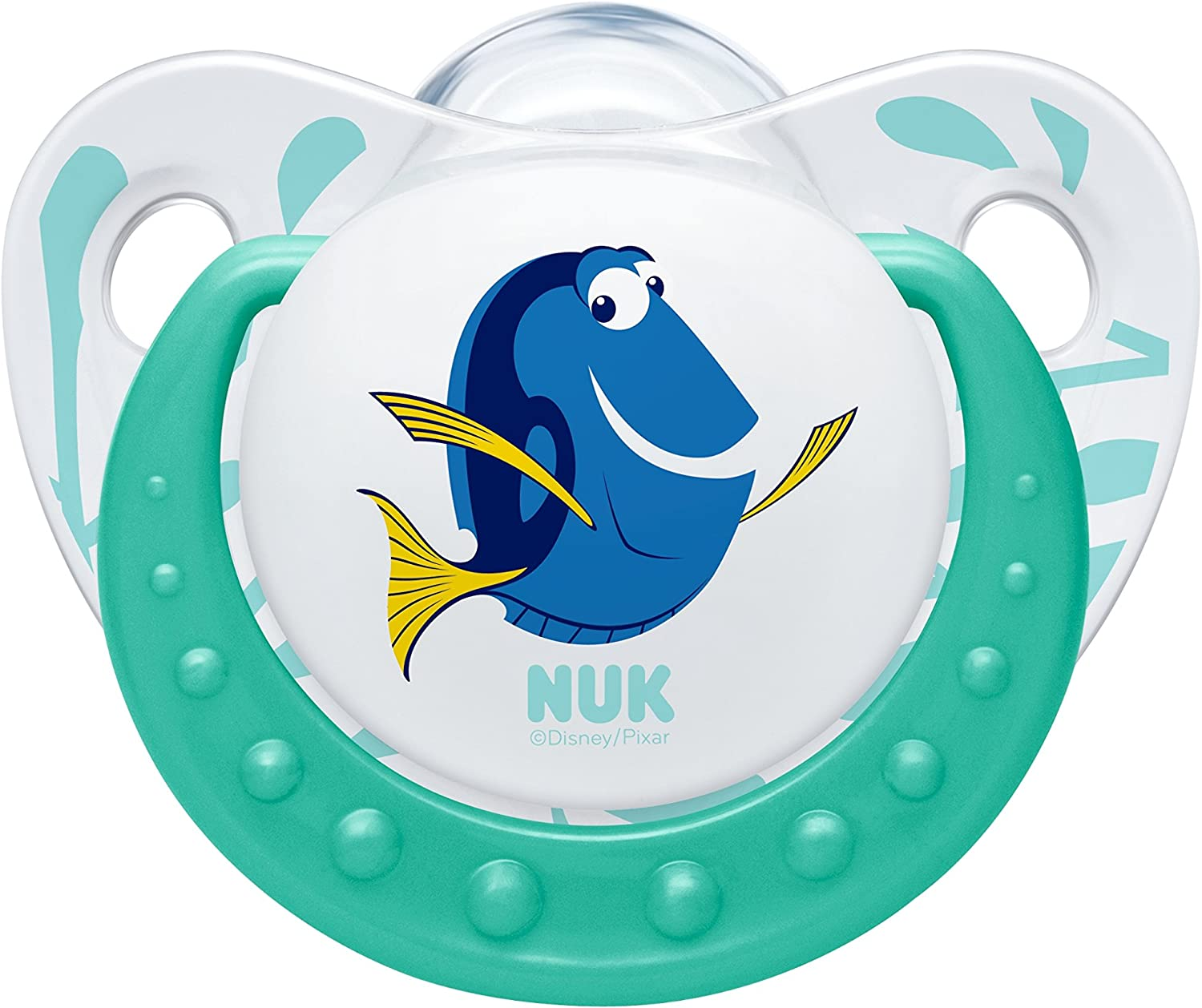 NUK Finding Dory Classic Orthodontic Silicone Soothers 0-6 Months 2 pack