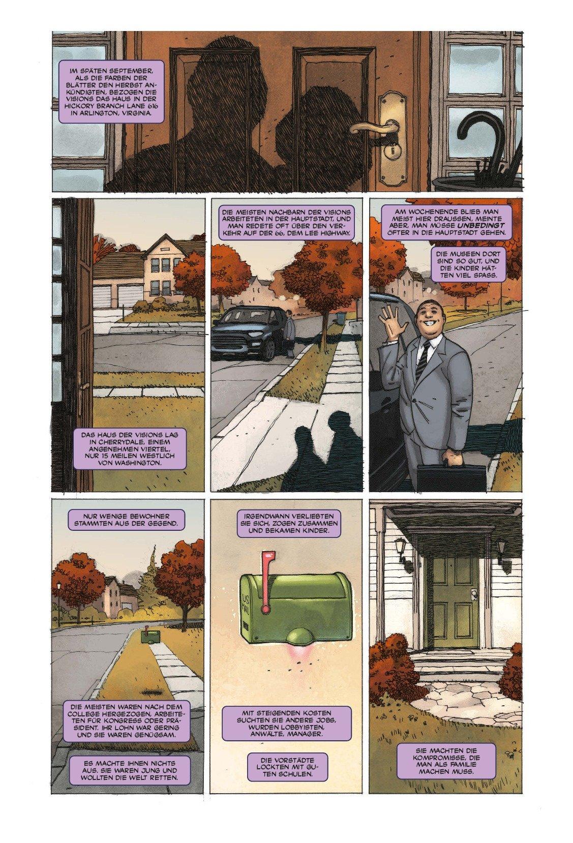 Vision: Bd. 1: Eine (fast) normale Familie: Amazon.de: Tom King ...