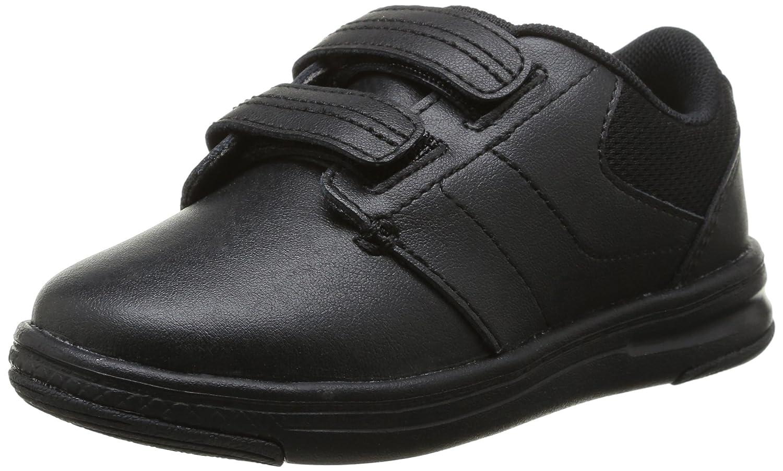 Crocs Uniform Shoe P Flat (Toddler/Little Kid), Black/Black, 10 M US Little Kid