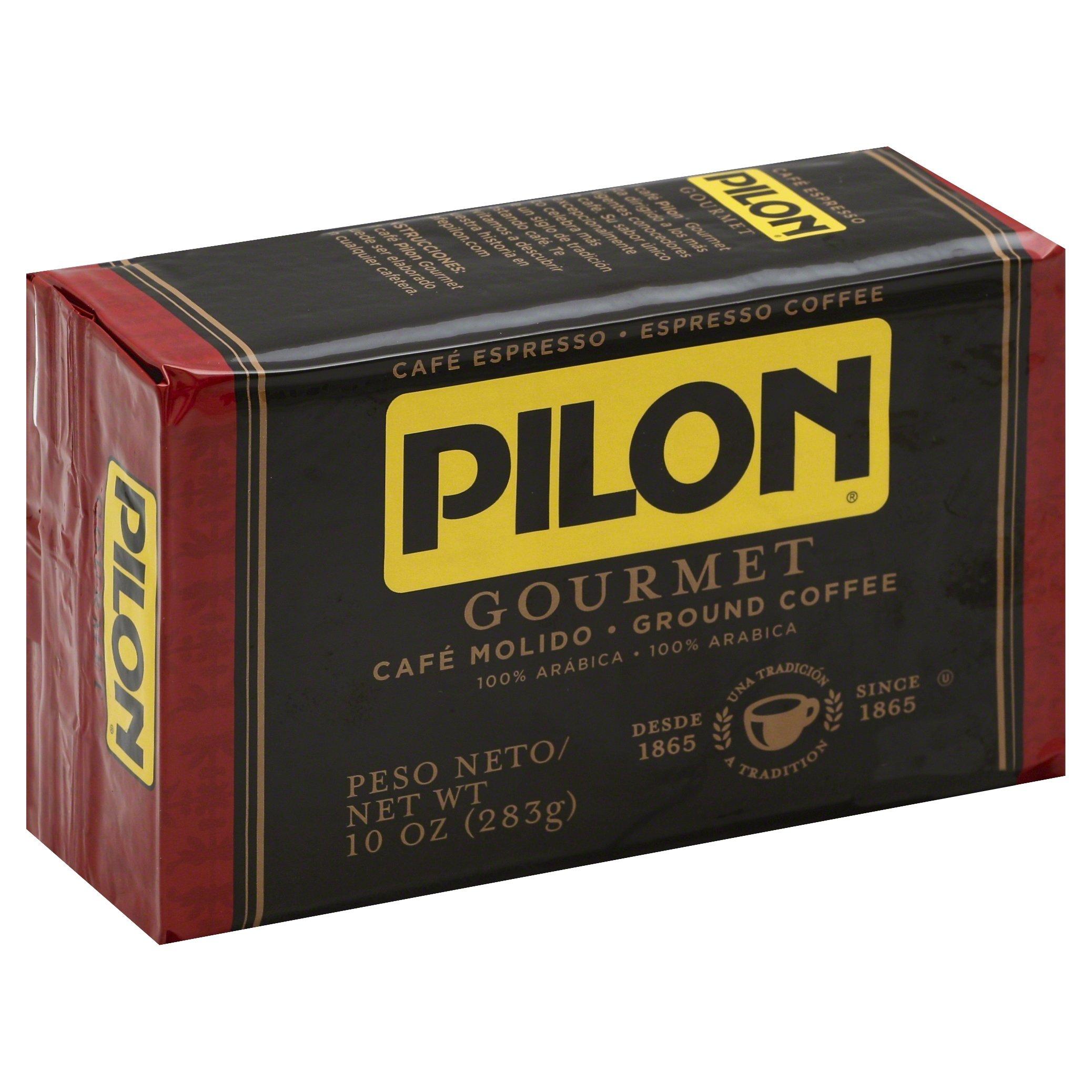 Pilon Restaurant Blend Espresso Coffees, 10 Ounce (Pack of 12)