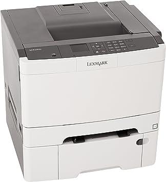 Amazon.com: Lexmark CS410dtn Color Laser Printer, Negro ...