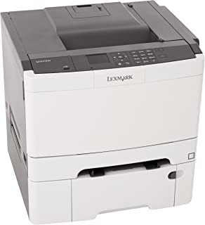 lexmark cs410dtn color laser printer with 550 sheet tray network ready duplex printing and color laser printer cost per page