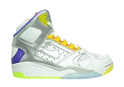d4a3e38cb6c24 Amazon.com   Nike Air Flight Lite High Men's Shoes White/Metallic ...
