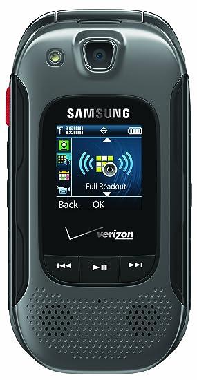 amazon com samsung convoy 3 gray verizon wireless cell phones rh amazon com Verizon Samsung Convoy 4 Display Themes Samsung Convoy More