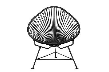 amazon innit designs acapulco chair black weave on black 28 Inch TV innit designs acapulco chair black weave on black frame