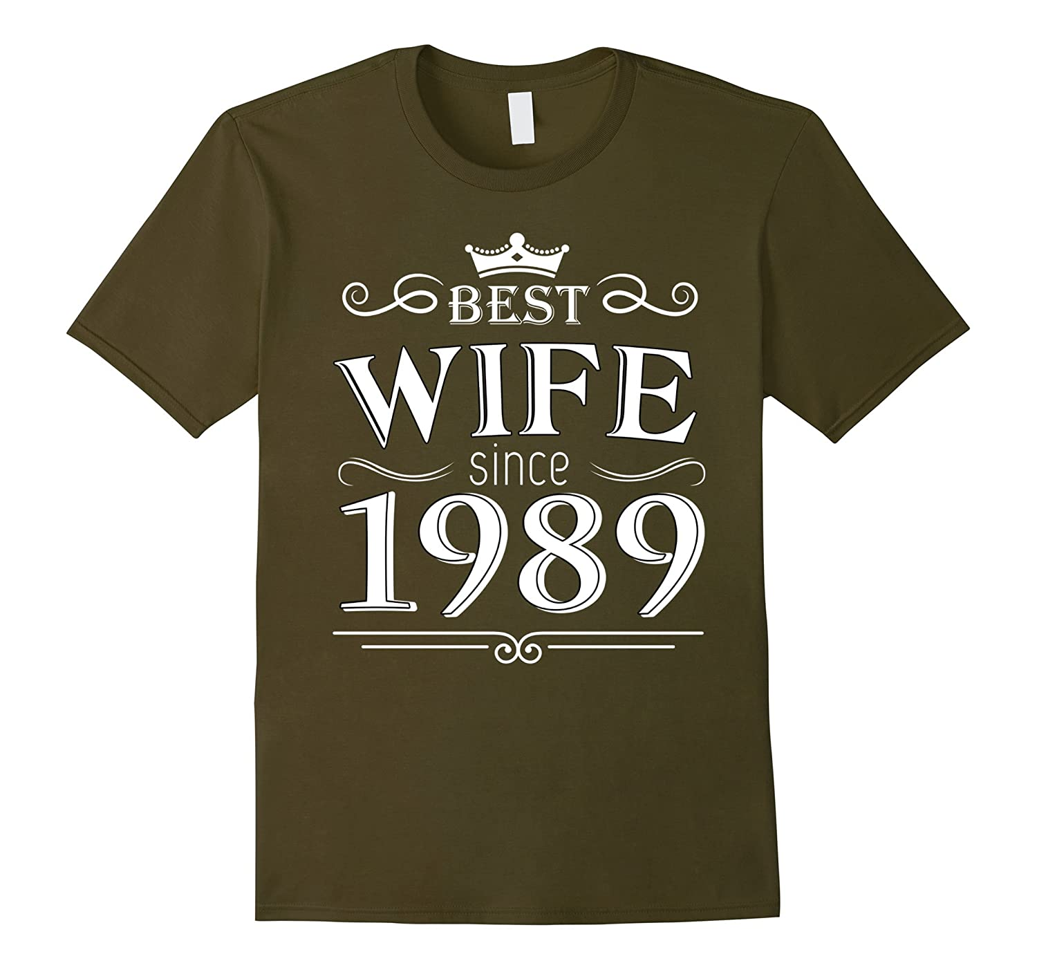 28th Wedding Anniversary Gift: Best Wife Since 1989 28 Years Wedding Anniversary 28th