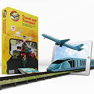 Aurodo Multi-Award Winning STEM Learning Game for Boys and Girls Age 3 to 10 | Learn 70 Vehicles and Machines with Augmented Reality & 200+ STEM Activities - 2019 Kids Product of the year Award Winner