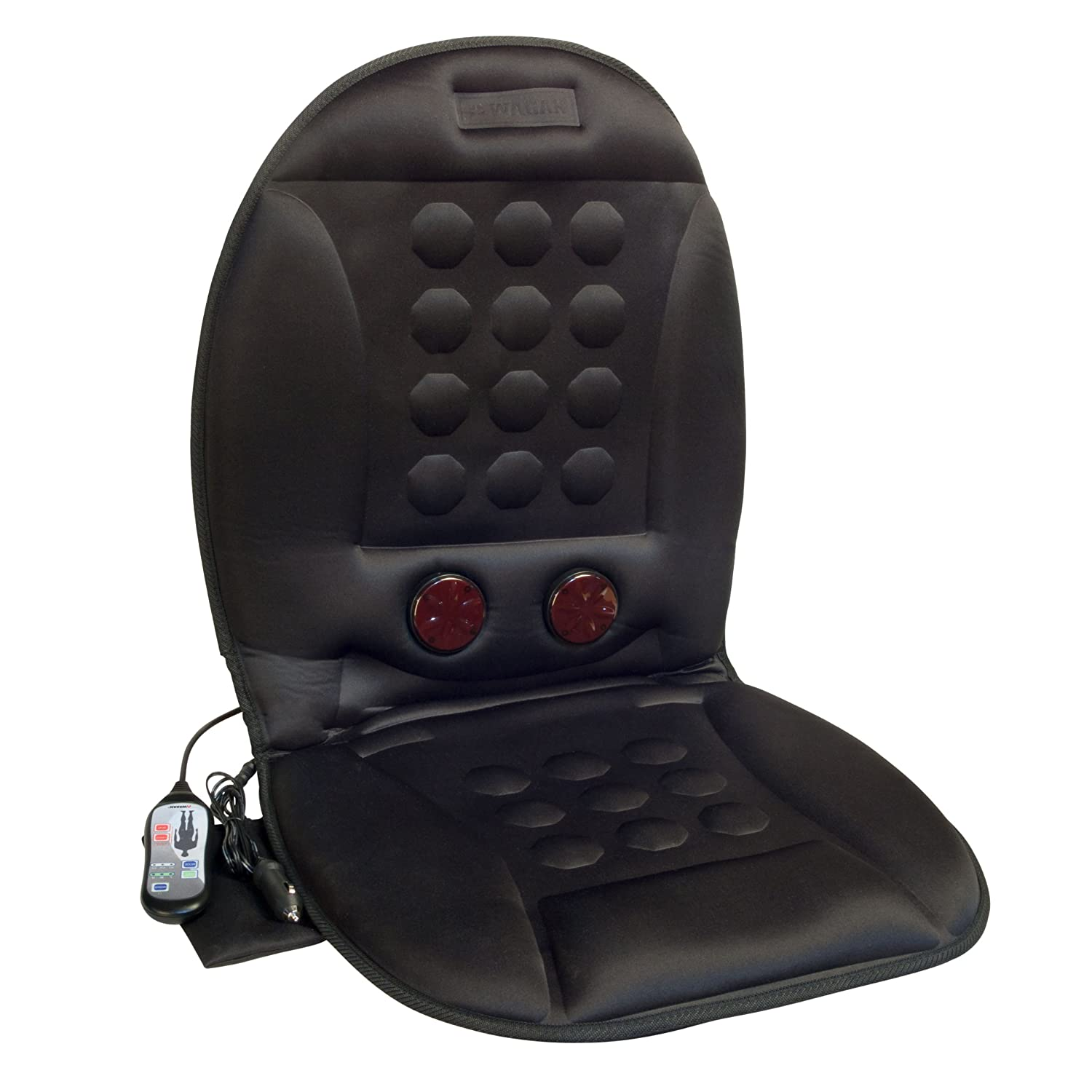 Wagan In9989 12v Infra Heat Massage Magnetic Cushion