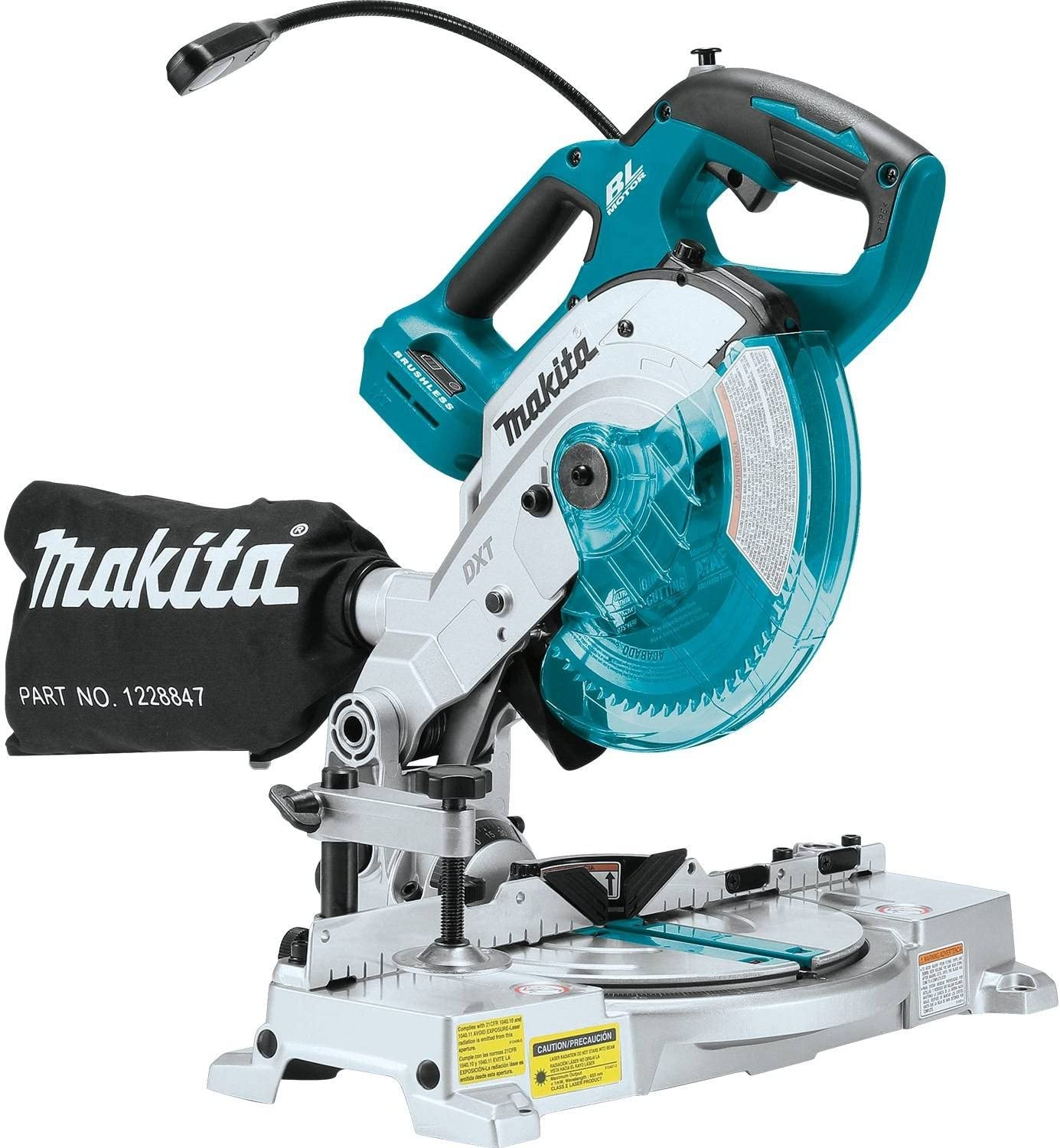Makita XSL05Z 18V LXT Compound Miter Saw