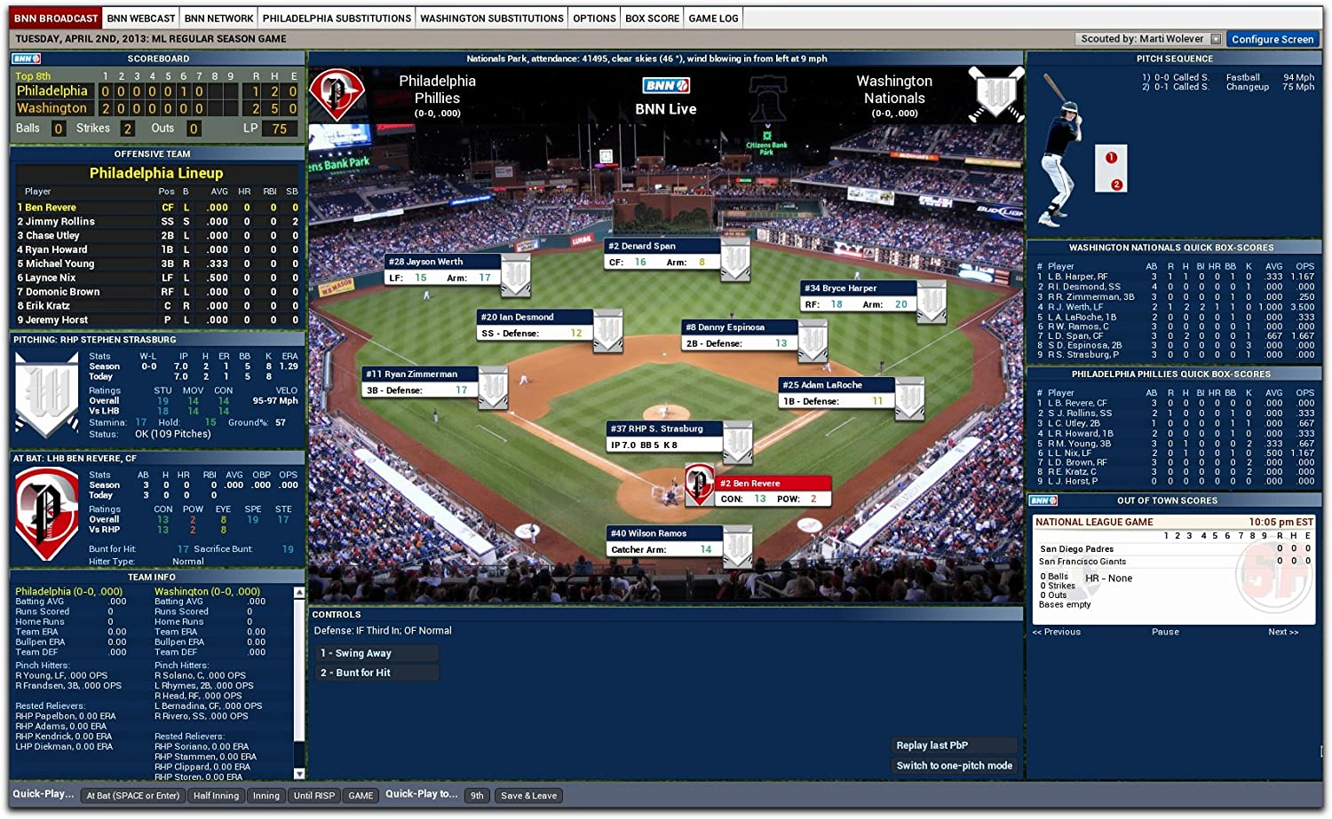 Amazon com: Out of the Park Baseball 14 [Download]: Video Games