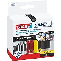 tesa On & Off Extra Strong Klittenband - Sterke zelfklevende klittenbandtape - Zware voorwerpen bevestigen zonder boren…