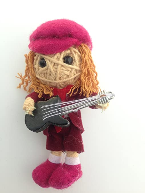 String Doll World Angus Young of AC/DC Voodoo Cadena muñeca ...