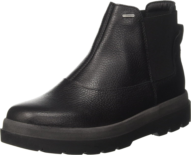 Kakadu dentro de poco Salón de clases  Geox Women's D Doralia Np ABX A Chelsea Boots, Black, 3 UK: Amazon ...