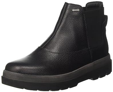 Geox D Doralia NP ABX A, Botas Chelsea para Mujer, Negro (Black), 36 EU: Amazon.es: Zapatos y complementos