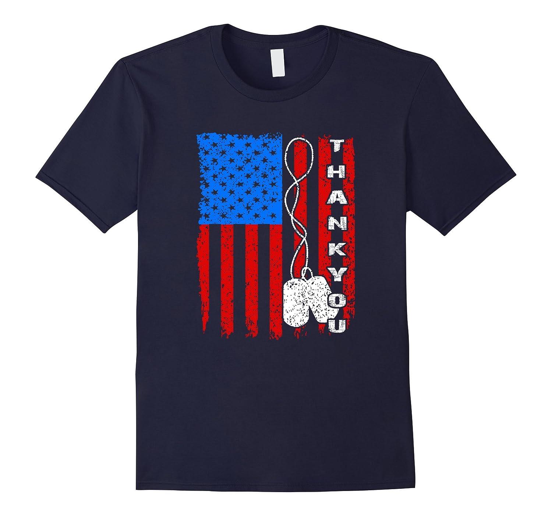 Veterans Day Thank You T Shirt 2017-ANZ