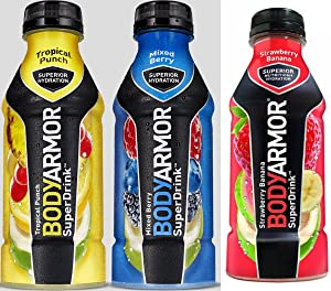 Bodyarmor SuperDrinks 12 - 16oz Bottles (Flavor Pack 2)