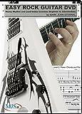 Easy Rock Guitar DVD: Heavy Rhythm and Lead Guitar Lessons: Beginner to Intermediate
