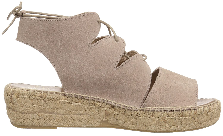 Andre Assous Women's Elika Platform Sandal B01MZAUPLZ 9 B(M) US|Taupe