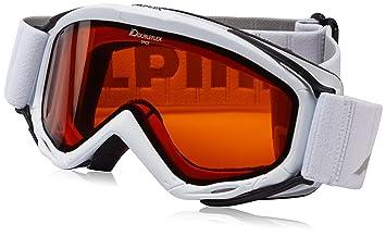 Amazoncom Alpina Spice Double Flex Goggles One Size White - Alpina goggles