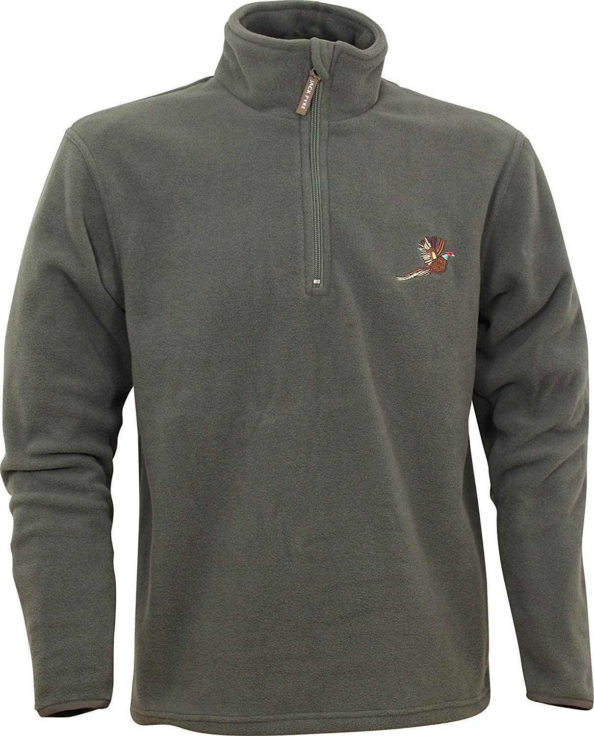Sherwood Forest Hanford Pheasant Fleece Pullover Olive Country Hunting Shooting