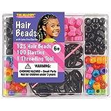 The Beadery 6549 Hair Bead Box, Bright