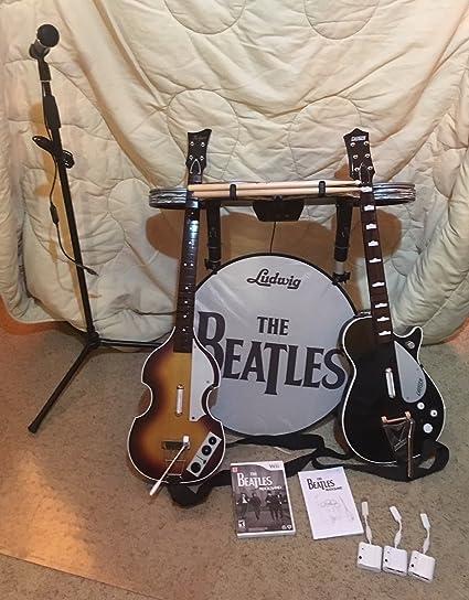 The beatles: rock band limited edition premium bundle xbox 360.
