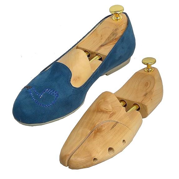 3x Horma de Calzado de madera Premium Ajustable DynaSun LTH5 2-Way 39-40 Moldeador de cedro para Zapato Hombres Damas y Señoras on7Gni3cS