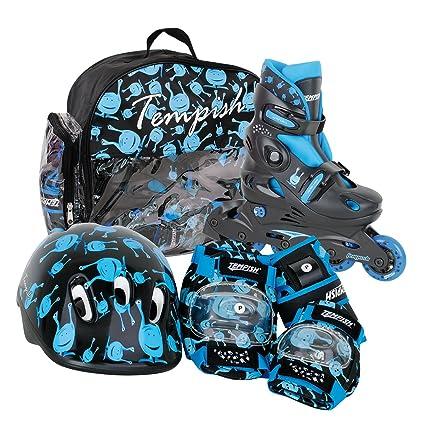 TEMPISH-Set de patines en línea para niños, extensibles, talla S (talla