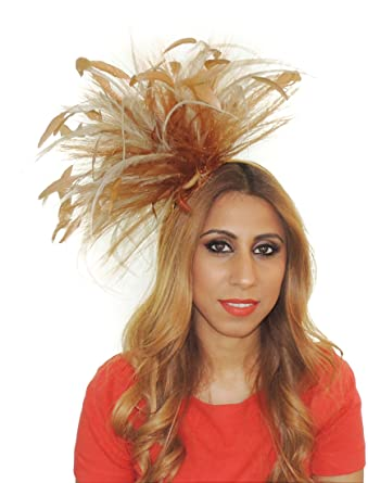 b9fd49ca Gorgeous Dog Bites Army Green Ascot Derby Fascinator Hat - With Headband at  Amazon Women's Clothing store: