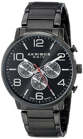 Xxiv Herren Akribos Armbanduhr Analog QuarzUhren Ak803bk yn0NO8vmPw