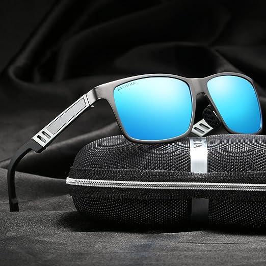 KITHDIA de magnesio y aluminio polarizadas de los hombres gafas de sol para la conducción deportiva viaje Lcsjq9q6pZ