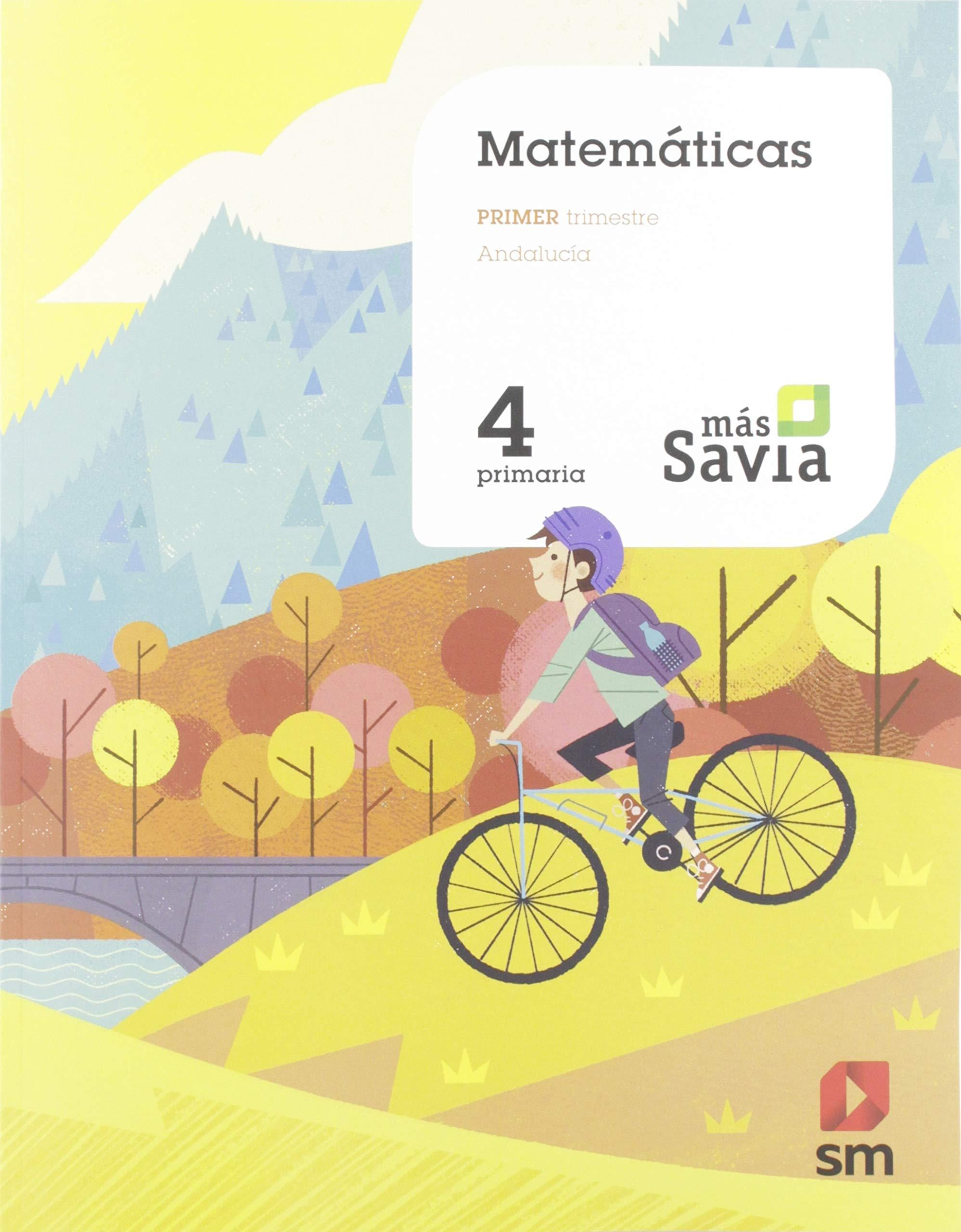 Amazon.com: Matemáticas. 4 Primaria. Más Savia. Andalucía ...