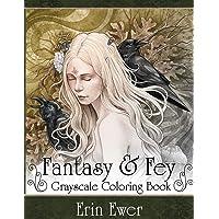 Fantasy and Fay Coloring Book