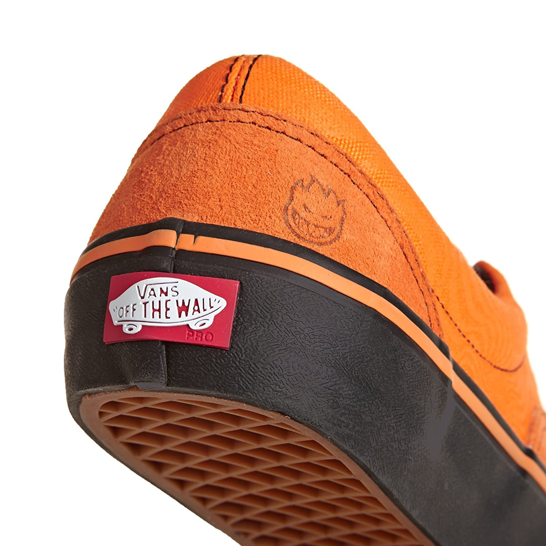 6e606a46391090 Vans Men s X Spitfire Era Pro Pumpkin Orange Black Skate Shoes (Spitfire)  Cardiel Orange 11 UK  Buy Online at Low Prices in India - Amazon.in