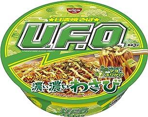 日清食品 焼そば U.F.O. 濃い濃いわさび 112g ×12個