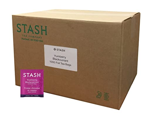 Stash Tea Yumberry Blackcurrant Herbal Tea, 10 bolsas de té ...