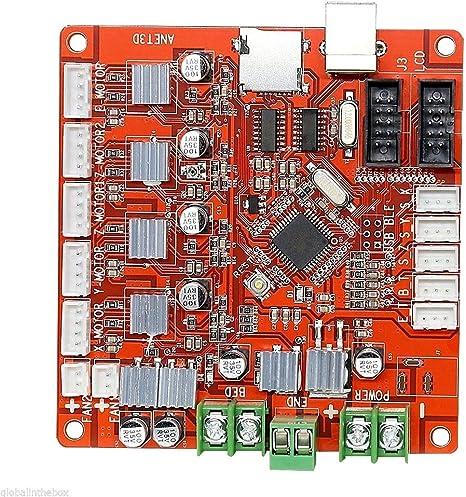 ShenYo Placa Base Impresora 3D A8 para Placa Base Anet V1.0 Reprap ...