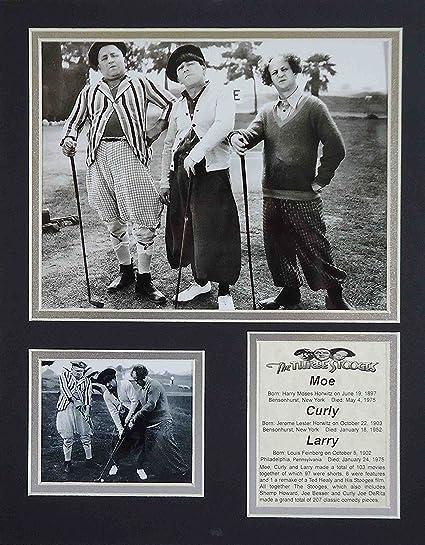 Amazon com: The Three Stooges - Golf B&W 11