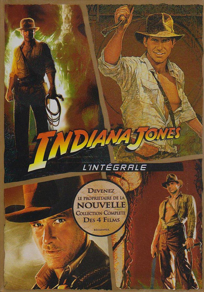 Coffret Indiana Jones 1,2,3 et 4 - Coffret 5 DVD: Amazon.es: Cine y Series TV