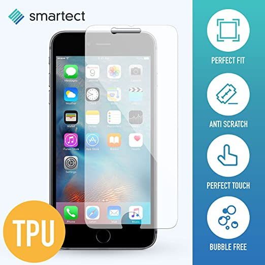 33 opinioni per [3x TPU] Apple iPhone 6 / 6s Pellicola Protettiva in TPU (la pellicola in TPU
