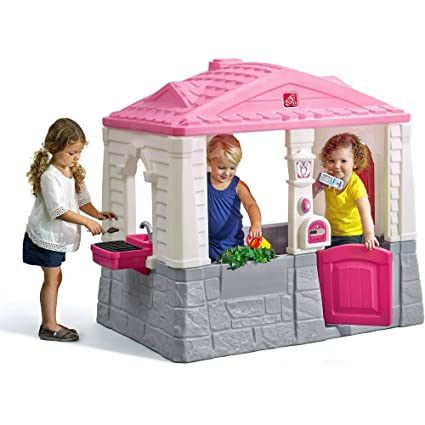 amazon com step2 naturally playful neat tidy cottage pink toys rh amazon com  little tikes neat and tidy cottage pink
