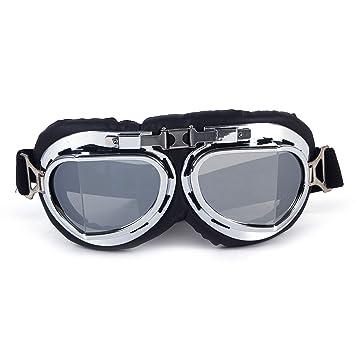 ZAIQUN Gafas de Sol Deportivo de Motocross Gafas polarizadas Las Lentes ecto Ideal para Ciclismo,