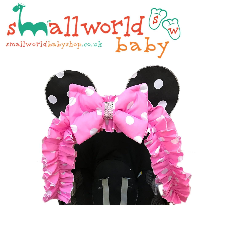 Minnie Mouse Pram Hood Trim Small World Baby Shop