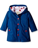 Hatley Girls' Solid Splash Jacket